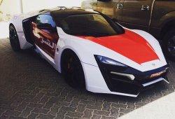 La Policía de Abu Dhabi se hace con un Lykan Hypersport