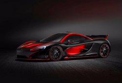 McLaren P1 por MSO, colores negro y rojo para el diablo sobre ruedas