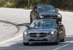 Mercedes Benz SLC 450 AMG 2016, descubierta la unidad de pruebas