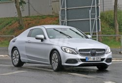 Mercedes Clase C Coupe 2016, cada vez más cerca de la producción