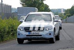 Mercedes GLC 2016, descubierto al completo antes de su presentación