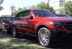 Mercedes GLC, ahora en vídeo: así es su interior (y exterior) al detalle