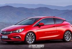 Nuevos Opel Astra GTC, Astra Sedan y Astra Sports Tourer: adelantando su diseño