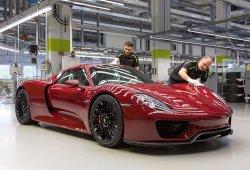 ¡Bye, Bye 918 Spyder! Porsche ha fabricado las 918 unidades en 21 meses