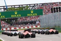 Dos empresas de Estados Unidos y Qatar planean hacerse con el 35% de la F1