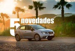 SEAT Ibiza 2015, sus cinco novedades principales