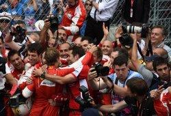 """El presidente de Ferrari: """"Tenemos la suerte de contar con Vettel"""""""