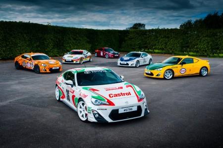 Toyota GT86, seis unidades especiales con toda la herencia de la competición