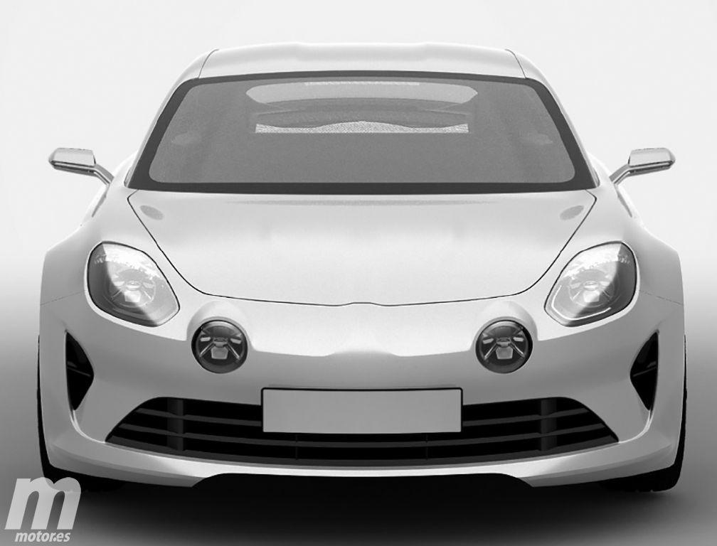 ¿Es éste el Renault Alpine de producción?