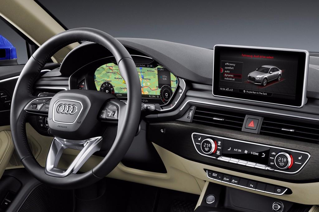 Audi A4 2015, así es su innovadora y desbordante tecnología