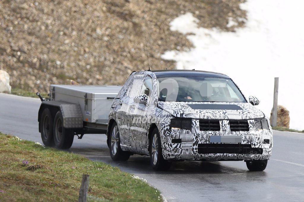 Volkswagen Tiguan 2016, primeras imágenes de su renovación