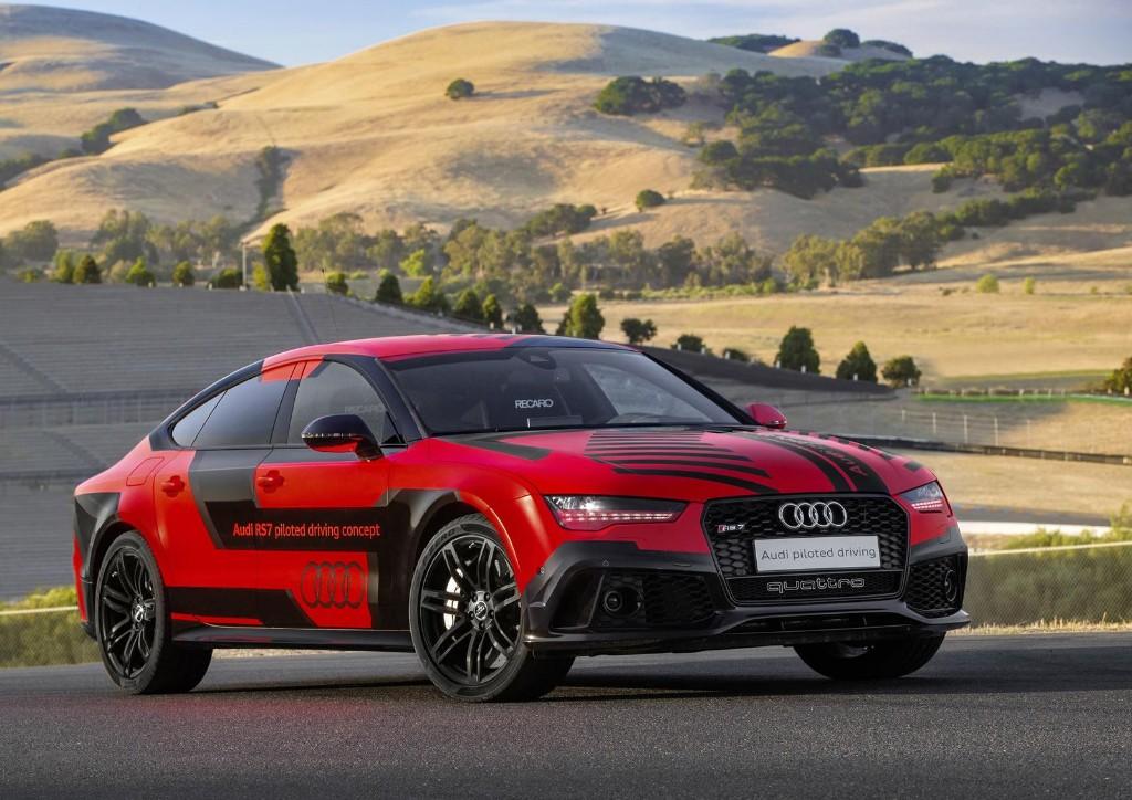 El Audi RS7 sin conductor se pone a dieta en verano y adelgaza más de 400 kilos de peso