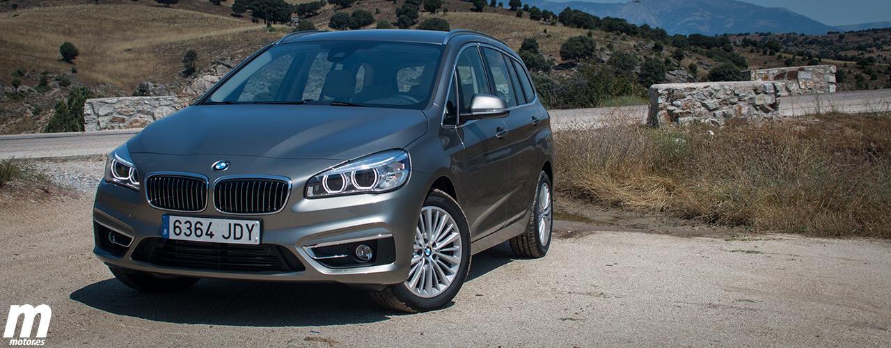 Presentación BMW Serie 2 Gran Tourer: Gama, equipamientos y precios