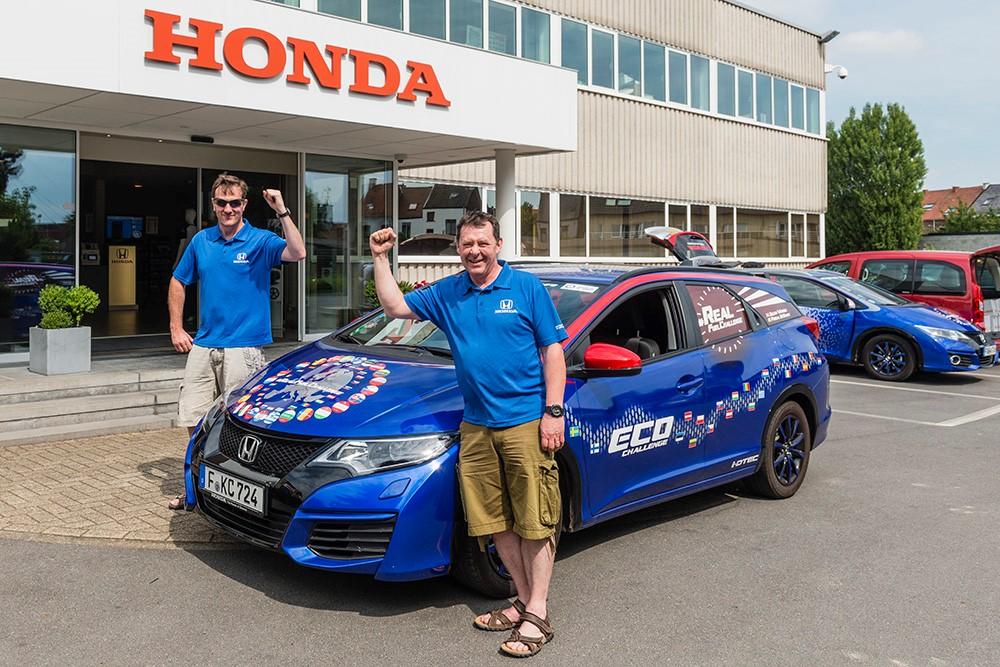 Honda Civic Tourer 1.6 i-DTEC, récord del mundo en eficiencia de combustible