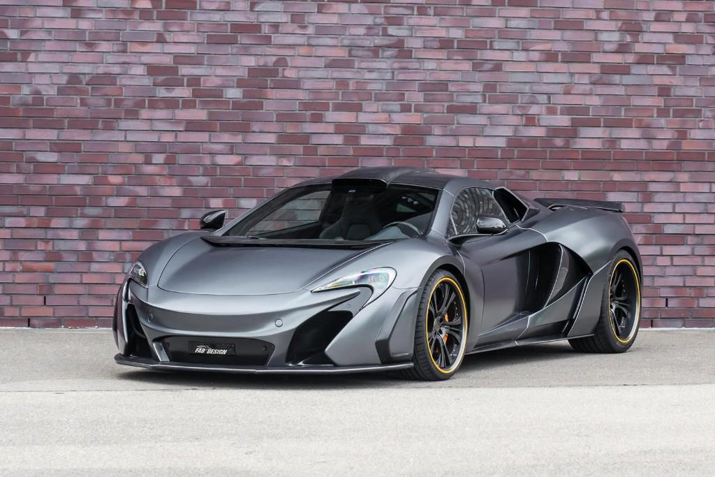 McLaren 650S, más agresivo y potente gracias a FAB Design