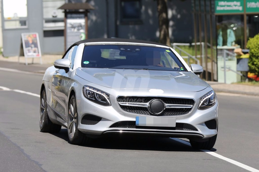 Mercedes Clase S Cabrio 2016, últimas pruebas en Nürburgring antes de su presentación