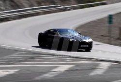 """Aston Martin DB11, """"cazado"""" en vídeo en España"""