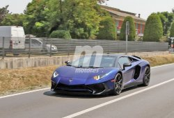 Lamborghini Aventador SV Roadster, cazado completamente al descubierto