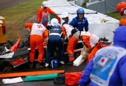 Nuevos datos sobre el accidente de Bianchi: la grúa aplastó su cabeza