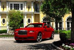 """Rolls-Royce Wraith St. James Edition, los 632 CV del """"Rolls"""" más potente se visten de rojo pasión"""
