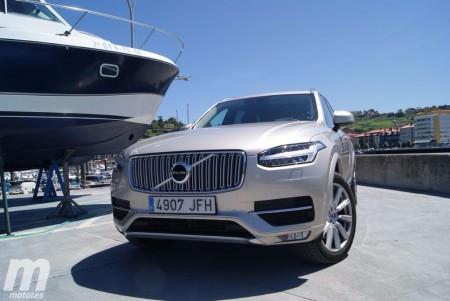 Prueba Volvo XC90 D5: Comportamiento, seguridad y conclusiones (III)