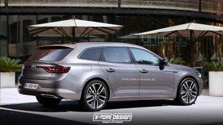 Renault Talisman Grand Tour, un adelanto de cómo será su diseño