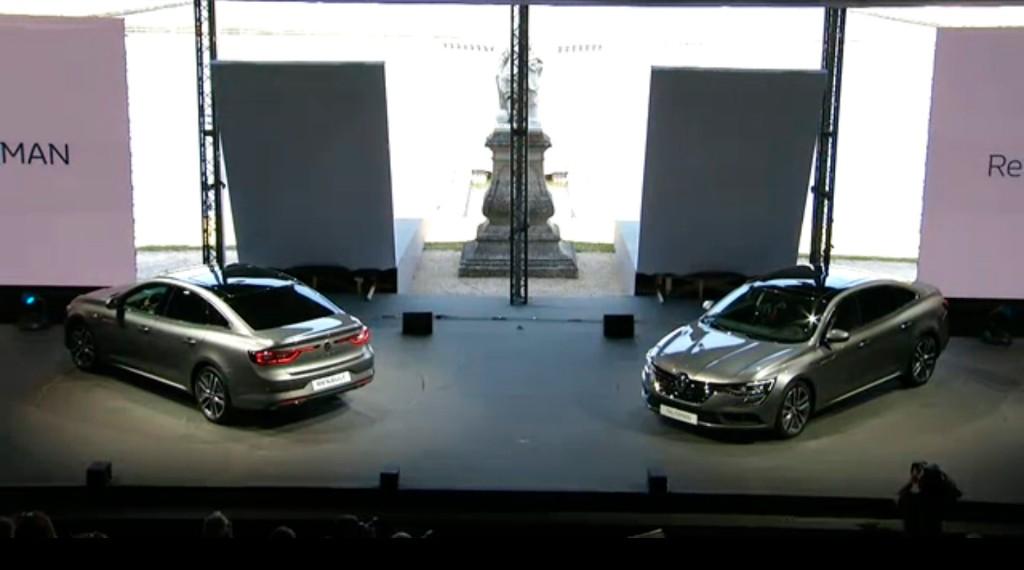 Presentación del Renault Talisman en directo