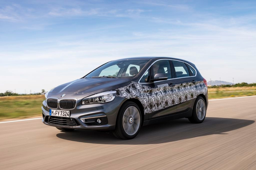Primeros datos del BMW Serie 2 Active Tourer híbrido enchufable