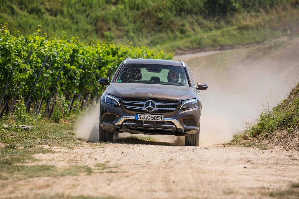Prueba Mercedes GLC 2016: Un SUV de cualidades offroad demostradas