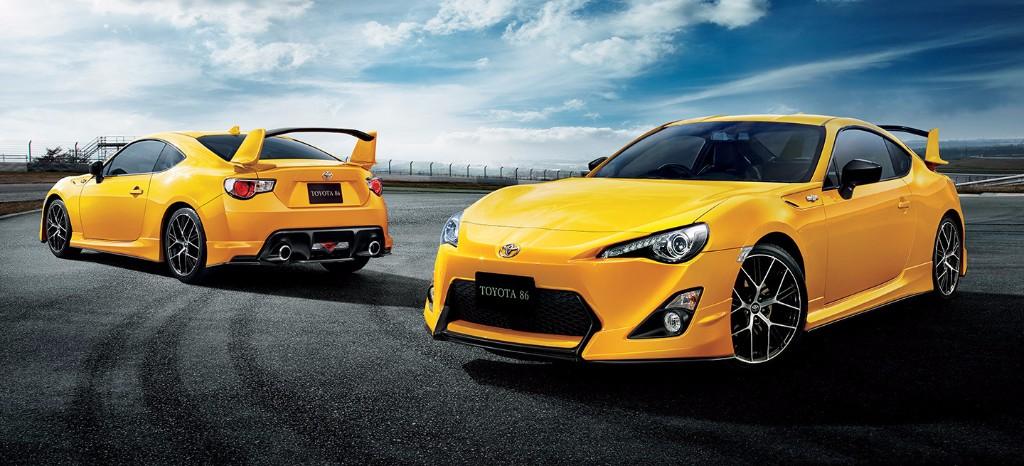 Toyota GT86 Yellow Limited, mayor exotismo para el deportivo japonés