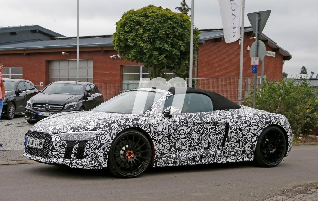 Audi R8 Spyder 2016, primeras fotos