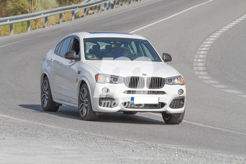 Cazado el BMW X4 M40i sin camuflaje