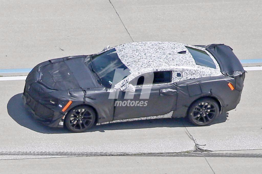Chevrolet Camaro ZL1 2016, en desarrollo