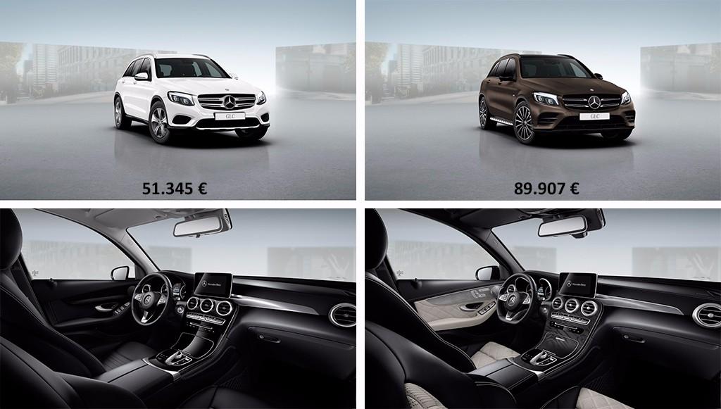 El Mercedes GLC 2015 a los ojos de su configurador