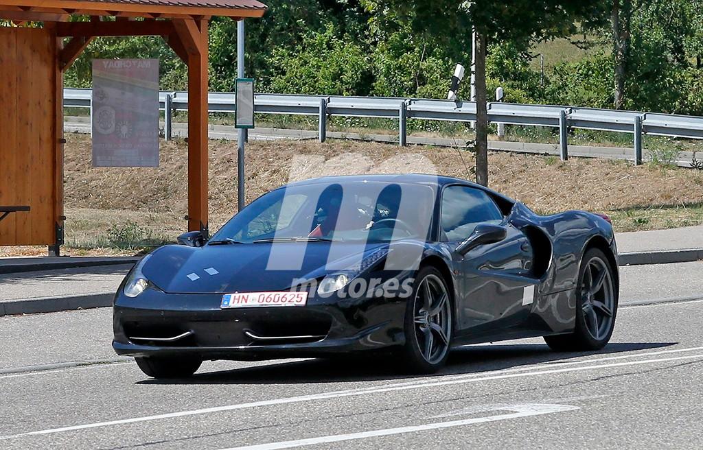 El Ferrari Dino inicia su fase de pruebas con su motor V6 biturbo