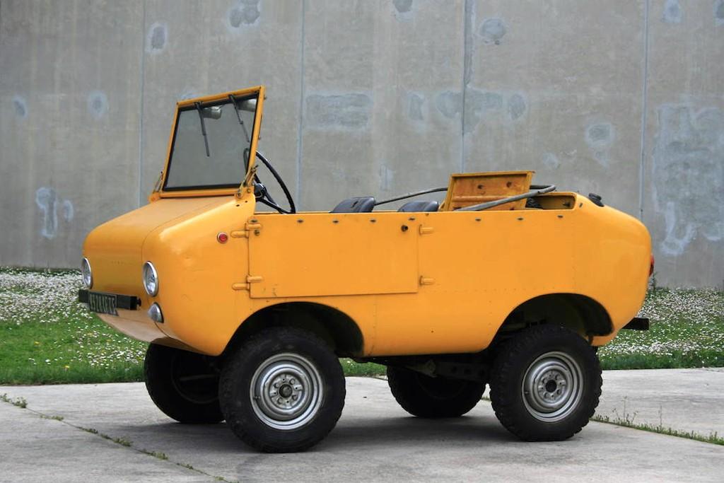 Ferves Ranger, el primo todoterreno del Fiat 500
