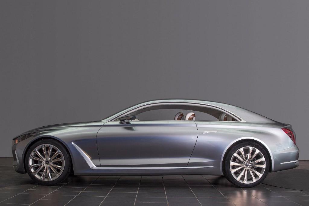 Hyundai Vision G Concept, anticipando el nuevo Genesis Coupe