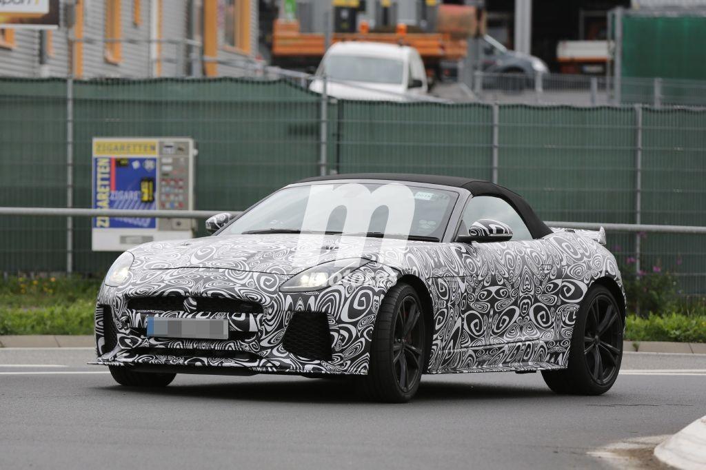 El Jaguar F-Type SVR Convertible se deja ver por primera vez