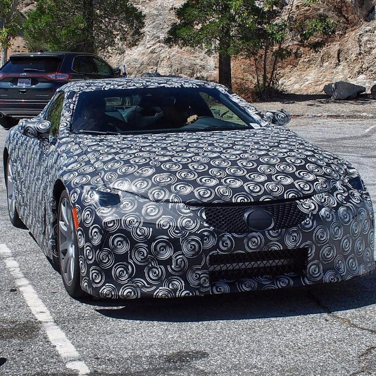 El Lexus LF-LC de producción se pasea por las calles de Estados Unidos
