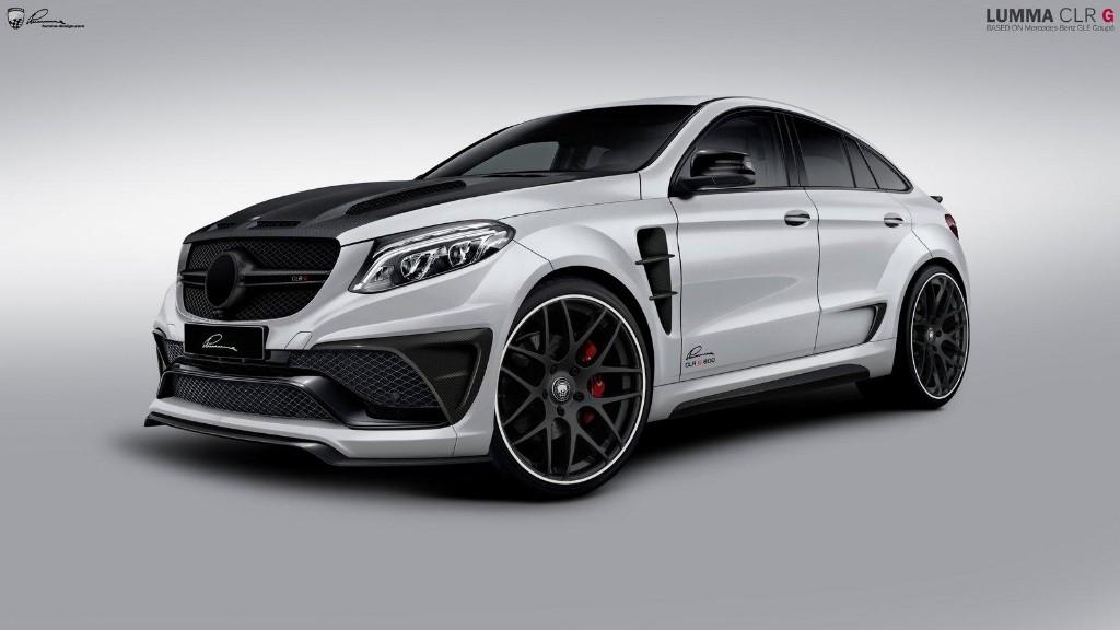 Lumma CLR G 800, el Mercedes GLE Coupé mutante