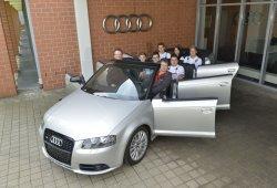Audi A3 Cabrio XXL: la limusina de seis puertas sin techo