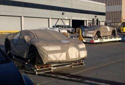 El Bugatti Chiron 2016 es descubierto en Los Ángeles
