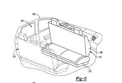 Ford patenta el sorprendente habitáculo de su coche autónomo