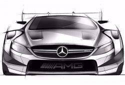 Primeros bocetos del Mercedes-AMG C 63 Coupé DTM de 2016