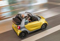 Smart Fortwo cabrio 2016, el descapotable más pequeño se hace oficial