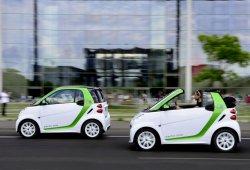 Los smart fortwo electric drive ya no se fabrican