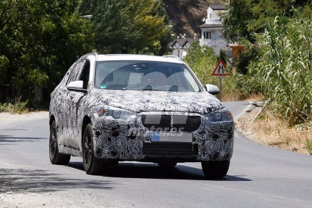 BMW X1 2016 de 7 plazas, en camino