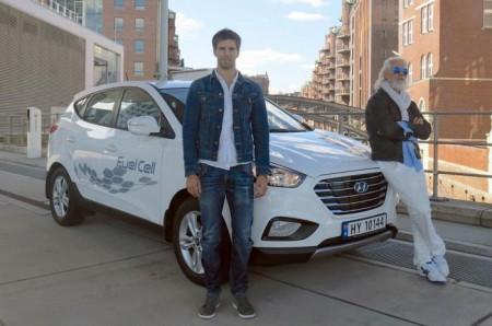 El Hyundai ix35 de hidrógeno recorre casi 2.400 km en un solo día
