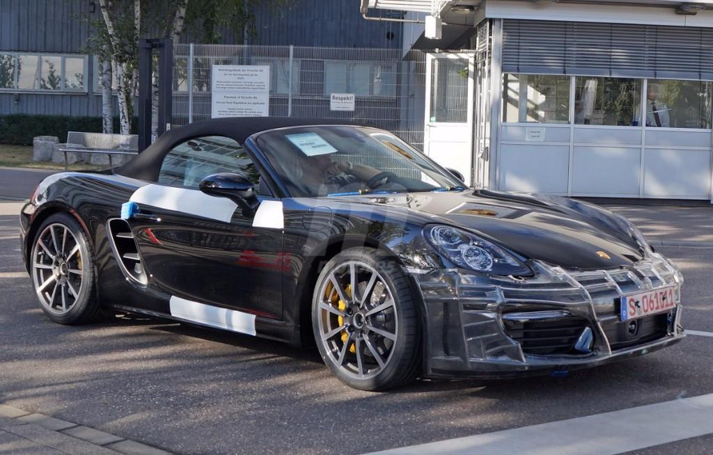 Porsche Boxster 2016, así será su diseño y novedades