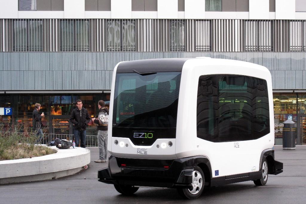 Proyecto WEpods: Los autobuses autónomos, una realidad en Holanda